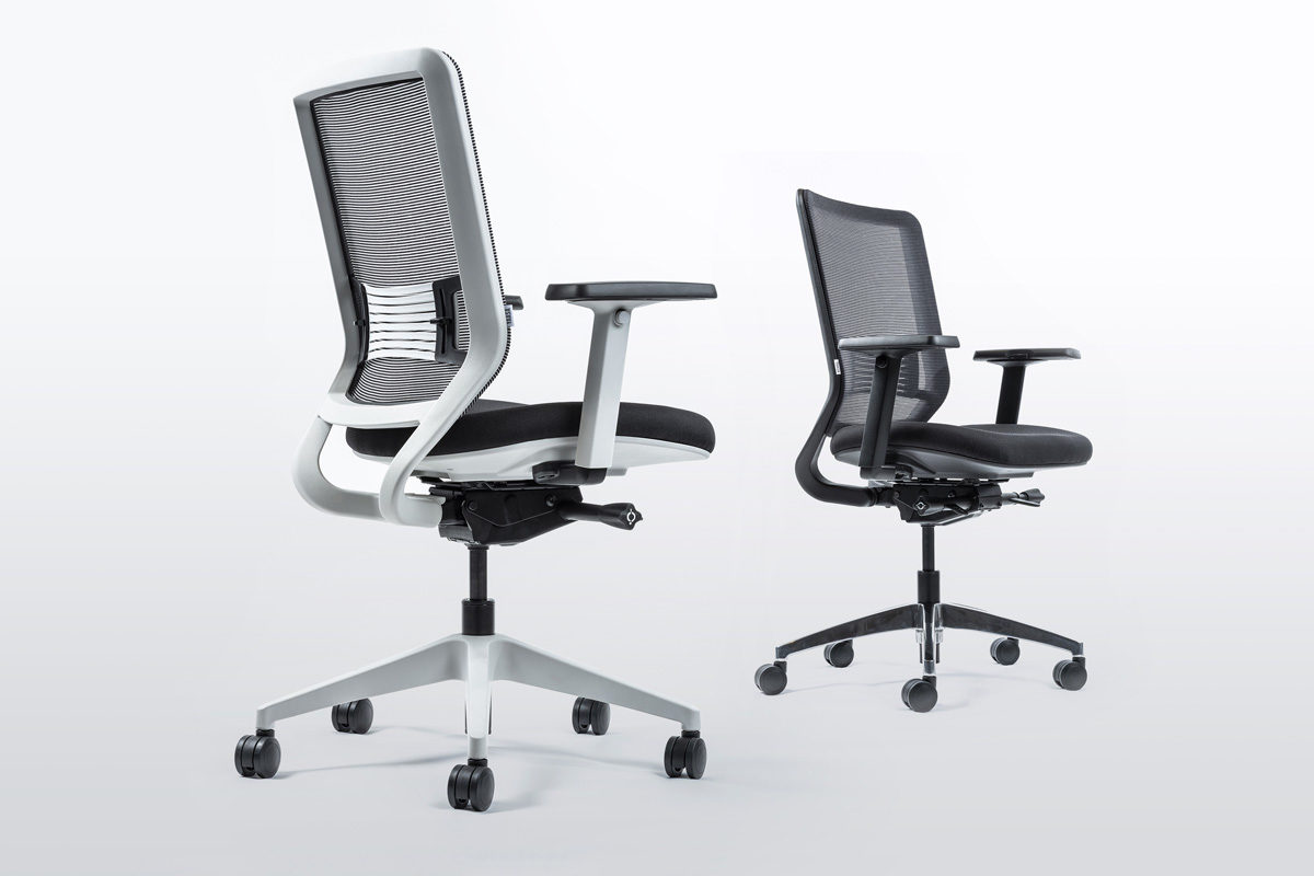 An ergonomic office chair improves your body posture and reduces back pain and neck pain.