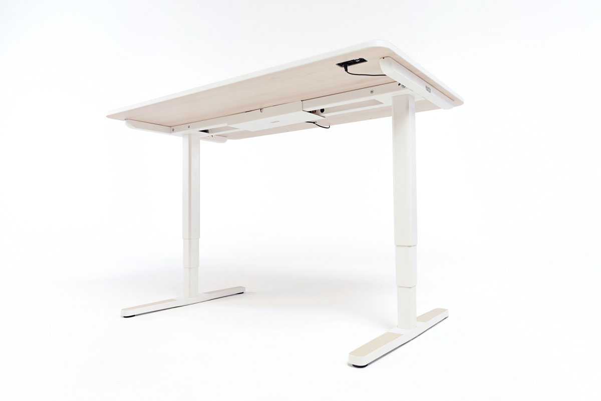 The technology beneath the Yaasa Desk Pro II enables best performance, quiet and quick height adjustment.