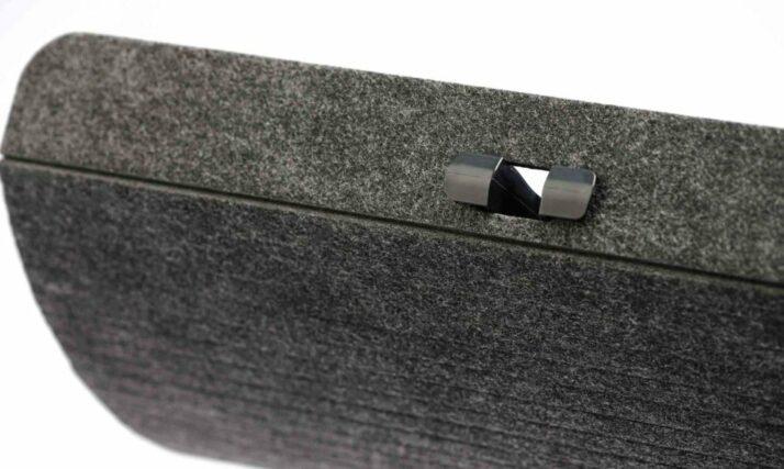 Felt is an unique material that enables maximum flexibility of your Cable Management.