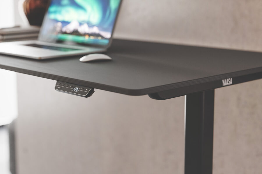 height adjustable desk frame by yaasa