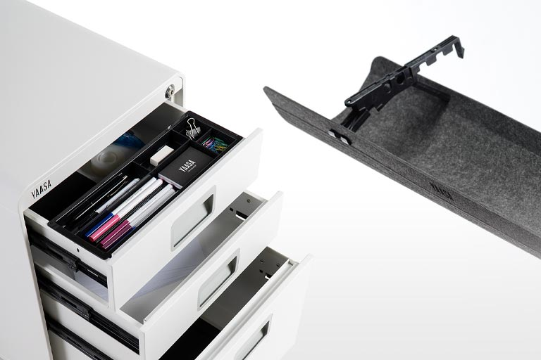 Complete your office setup with the smart and modern accessories by Yaasa.